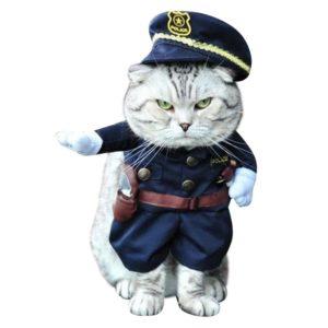 Kitty Cop Pet Costume