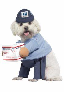 Postal Worker Pet Costume