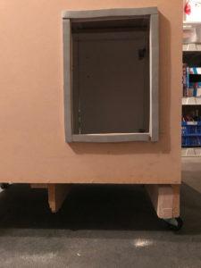 Kitty Litter Cabinet Rear Access
